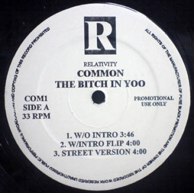 Common / No I.D. - The Bitch In Yoo / The Real Weight