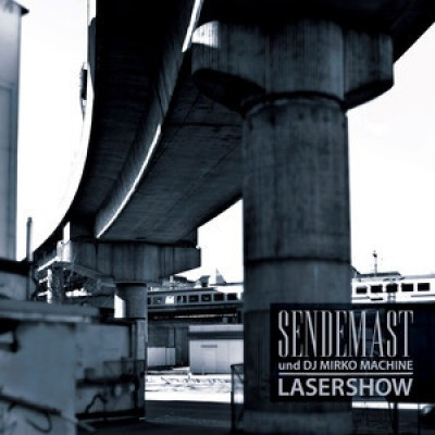 Sendemast - Lasershow