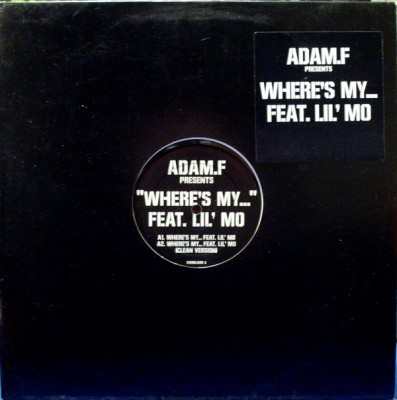 Adam F - Where's My...