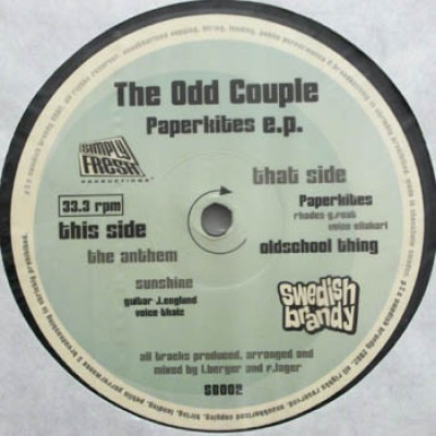 The Odd Couple - Paperkites EP