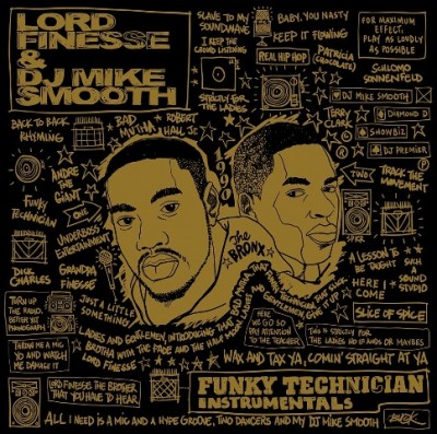 Lord Finesse - Funky Technician Instrumentals