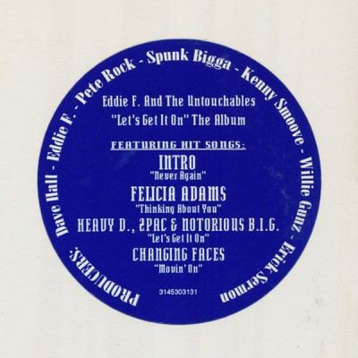 """DJ Eddie F And The Untouchables - """"Let's Get It On"""" The Album"""