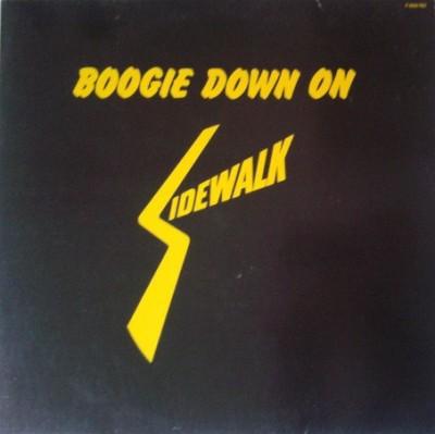 Various - Boogie Down On Sidewalk