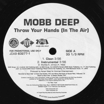 Mobb Deep - Throw Your Hands (In The Air)