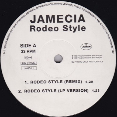 Jamecia Bennett / K-Ci Hailey - Rodeo Style / If You Think You're Lonely Now