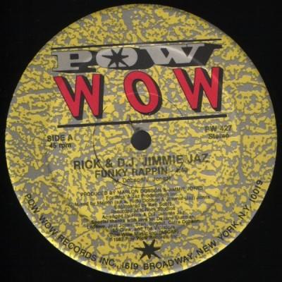 Rick & D.J. Jimmie Jaz - Funky Rappin'