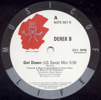Derek B - Get Down