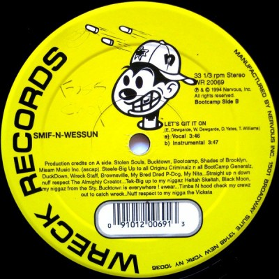 Smif-N-Wessun - Bucktown / Let's Git It On