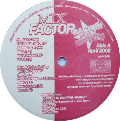 Various - Mix Factor Volume 86 (April 2008)