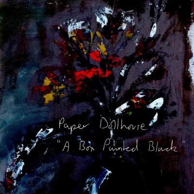 Paper Dollhouse - A Box Painted Black
