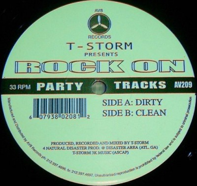 T-Storm - Rock On
