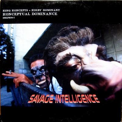 Konceptual Dominance - Savage Intelligence