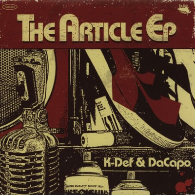 K-Def - The Article EP