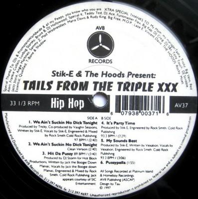 Stik-E & The Hoodz - Tails From The Triple XXX