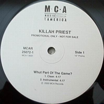 Killah Priest - Whut Part Of The Game?