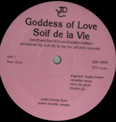 Soif De La Vie - Goddess Of Love