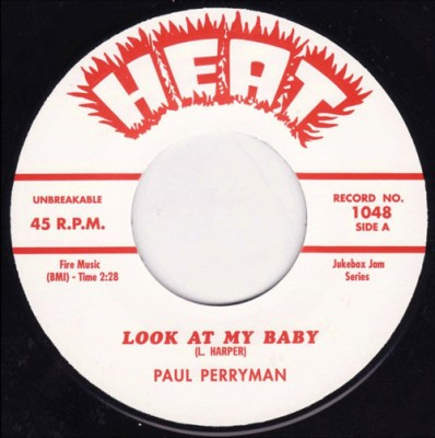 Paul Perryman - Look At My Baby / Keep A'Calling