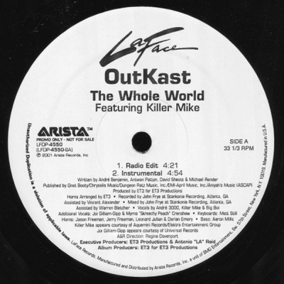 OutKast Featuring Killer Mike - The Whole World