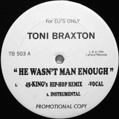 Toni Braxton - He Wasn't Man Enough (Hip-Hop Remixes)