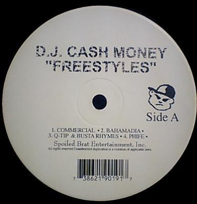 DJ Cash Money - Freestyles EP