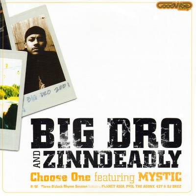 Big Dro - Choose One