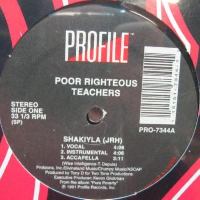 Poor Righteous Teachers - Shakiyla (JRH)