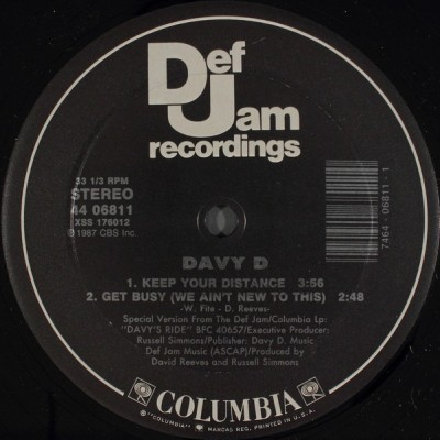 Davy D - Have You Seen Davy