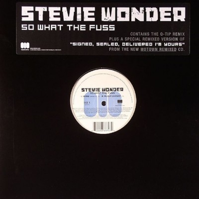 Stevie Wonder - So What The Fuss