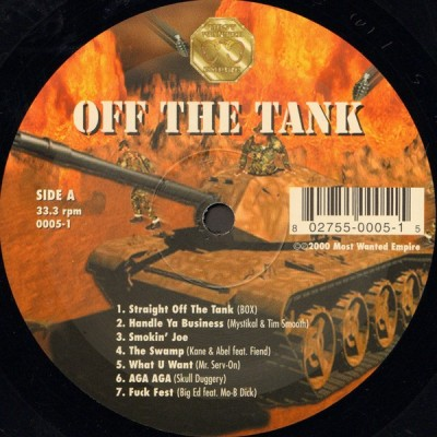 Various - Off The Tank