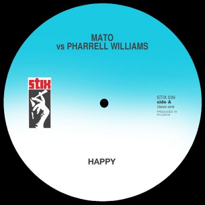 Mato vs Pharrell Williams / Mato vs Janel Monae - Happy / Tightrope
