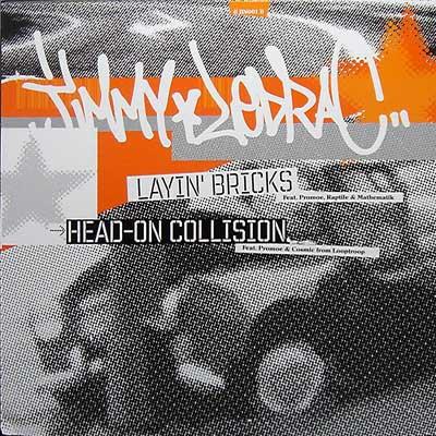 Jimmy Ledrac - Layin' Bricks / Head-On Collision