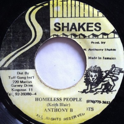 Anthony B - Homeless People