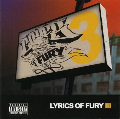 Various - Lyrics Of Fury 3