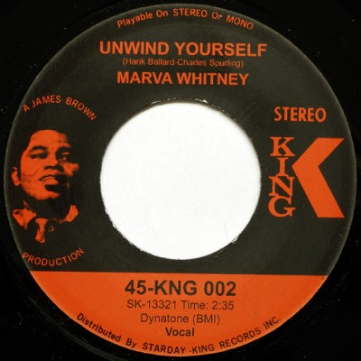 Marva Whitney - Unwind Yourself / What Do I Have To Do To Prove My Love To You