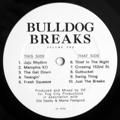 Fog City Productions - Bulldog Breaks Volume One