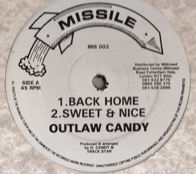 Outlaw Candy - Back Home / Move Ono Body