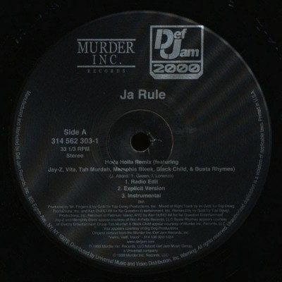 Ja Rule - 4 Life / Holla Holla (Remix)