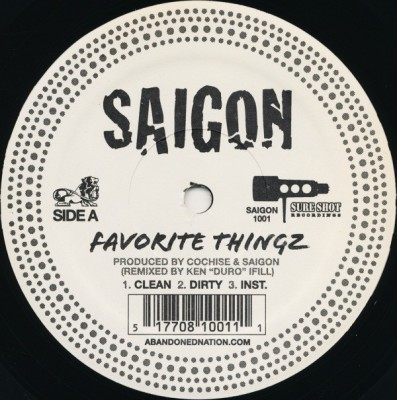 Saigon - Favorite Thingz / Come Again