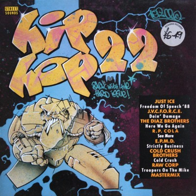 Various - Street Sounds Hip Hop 22
