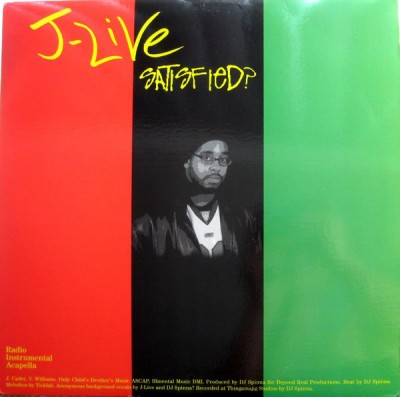 J-Live - Satisfied? / A Charmed Life