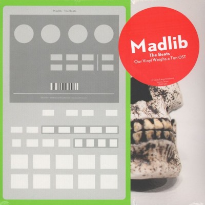 Madlib - The Beats - Our Vinyl Weighs A Ton Original Soundtrack