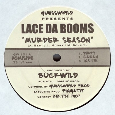 Lace Da Booms - Murder Season