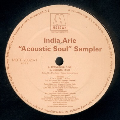 India.Arie - Acoustic Soul Sampler