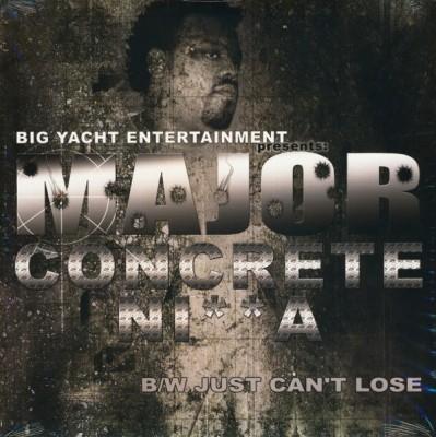Major - Concrete Ni**a b/w Just Can't Lose