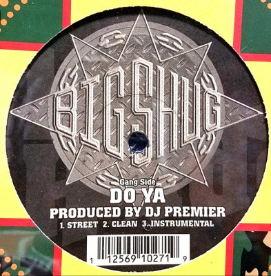 Big Shug - Do Ya / On The Record