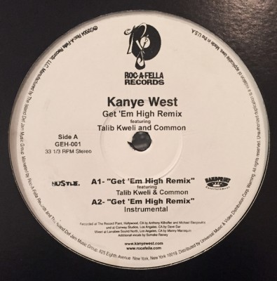 Kanye West - Get 'Em High (Remix)