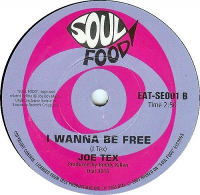 Joe Tex - Under Your Powerful Love / I Wanna Be Free