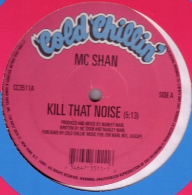MC Shan - Kill That Noise / I Ran The Game