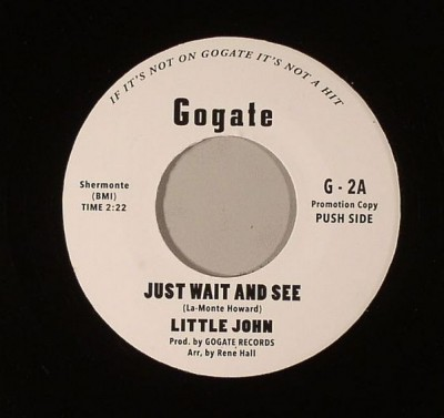 Little John / The Trent Sisters  - Just Wait & See / A Letter A Day
