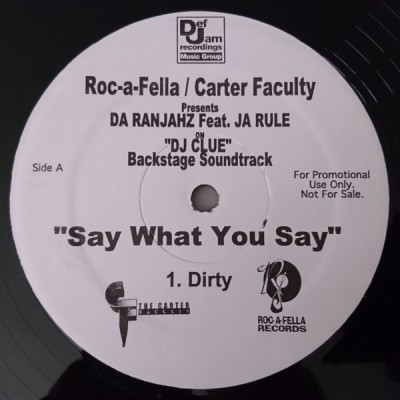 Da Ranjahz - Say What You Say